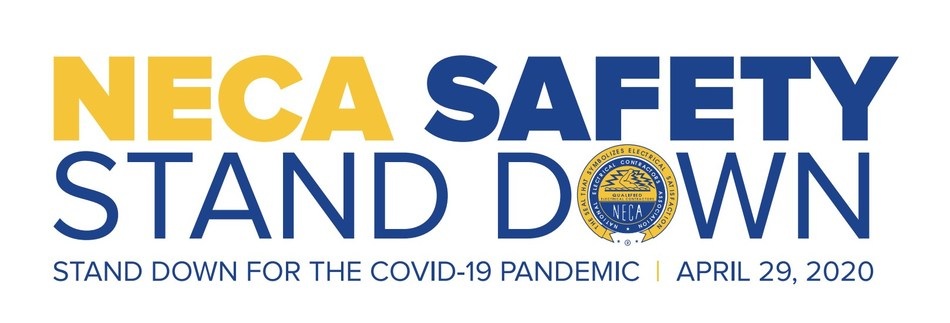 NECA Hosts Safety Stand-Down for the COVID-19 Pandemic