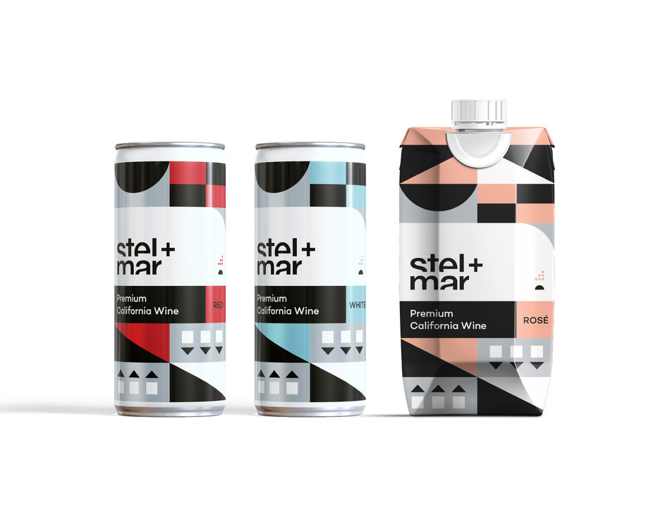 stel+mar: wine for a new generation of wine drinkers (CNW Group/Sheep Black Wine Inc.)