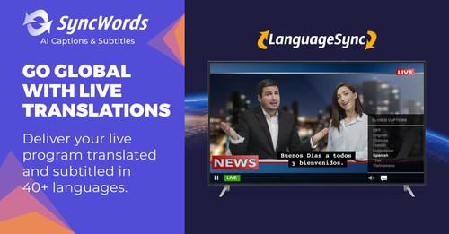 Go global with LanguageSync live translation