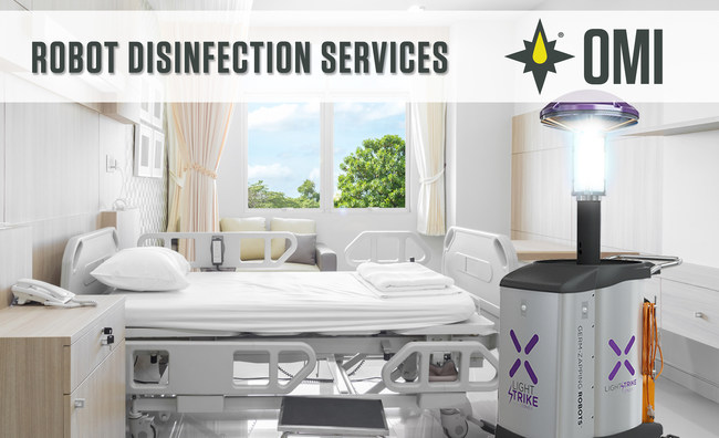 OMI Robot Disinfection Services