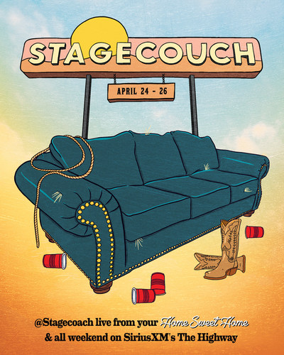 Stagecouch 2020 Festival Poster (CNW Group/Sirius XM Canada Inc.)