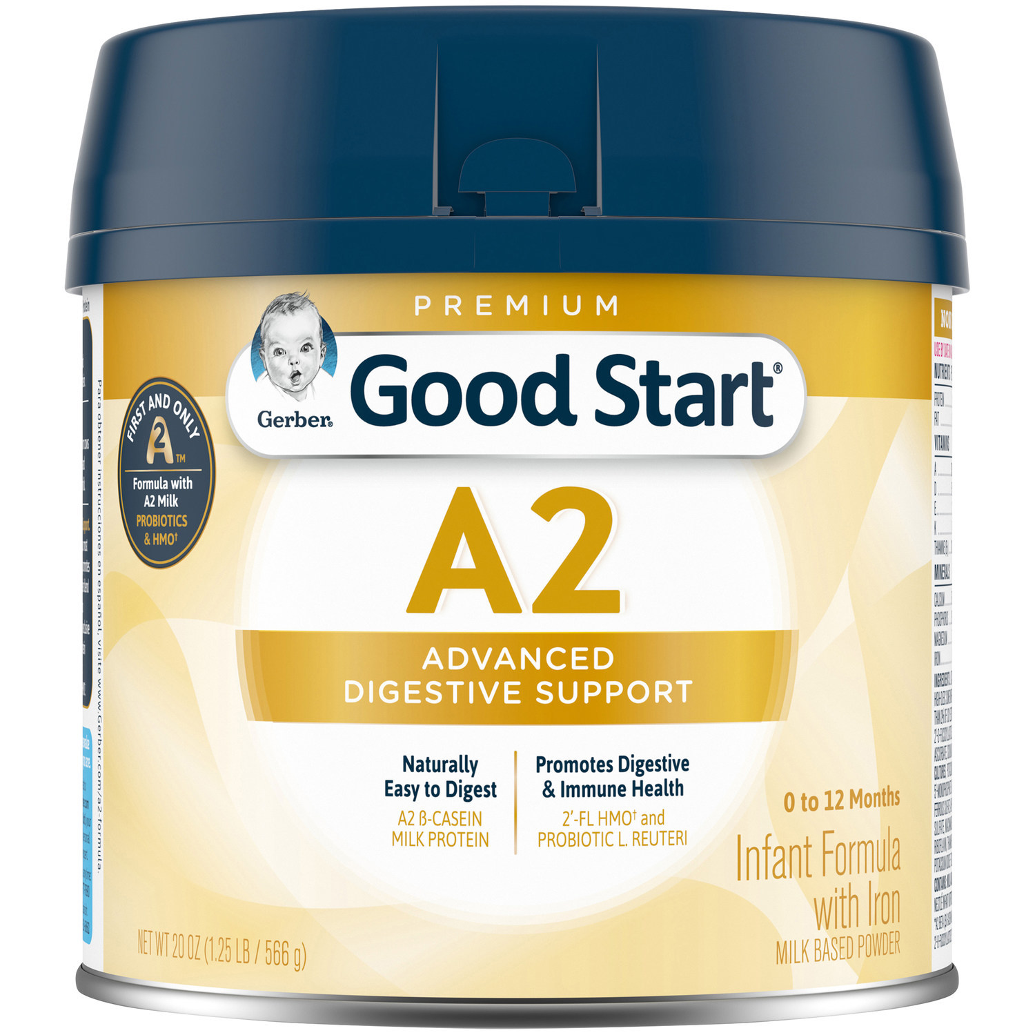 Gerber Good Start Launches Breakthrough A2 Infant And Toddler Nutrition To Support Digestive Comfort