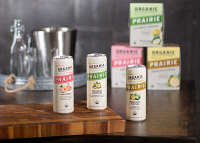 Prairie Organic Spirits, the #1 organic spirits brand, launches its first-ever canned product, Prairie Organic Sparkling Craft Cocktails. Now available in three refreshing flavors – Grapefruit, Cucumber Lemonade and Minnesota Bootleg – the new, USDA certified organic canned cocktails are made with natural ingredients, including award-winning, farm-crafted Prairie Organic Vodka and Gin. prairieorganicspirits.com