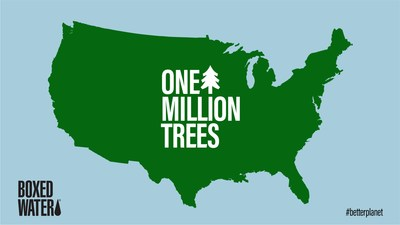 Boxed Water Plants One Millionth Tree with National Forest Foundation