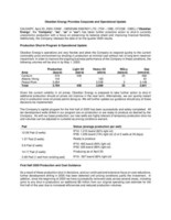Obsidian Energy Provides Corporate and Operational Update PDF (CNW Group/Obsidian Energy Ltd.)