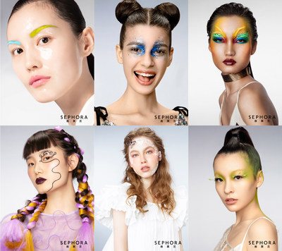 From left to right: Targeted Skincare, Glossy Girl, Jungle Adventure, Naughty Braids, Floral Fragrance, Environmental Respect