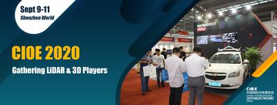 LiDAR and 3D Sensing Key Players will Gather at CIOE 2020