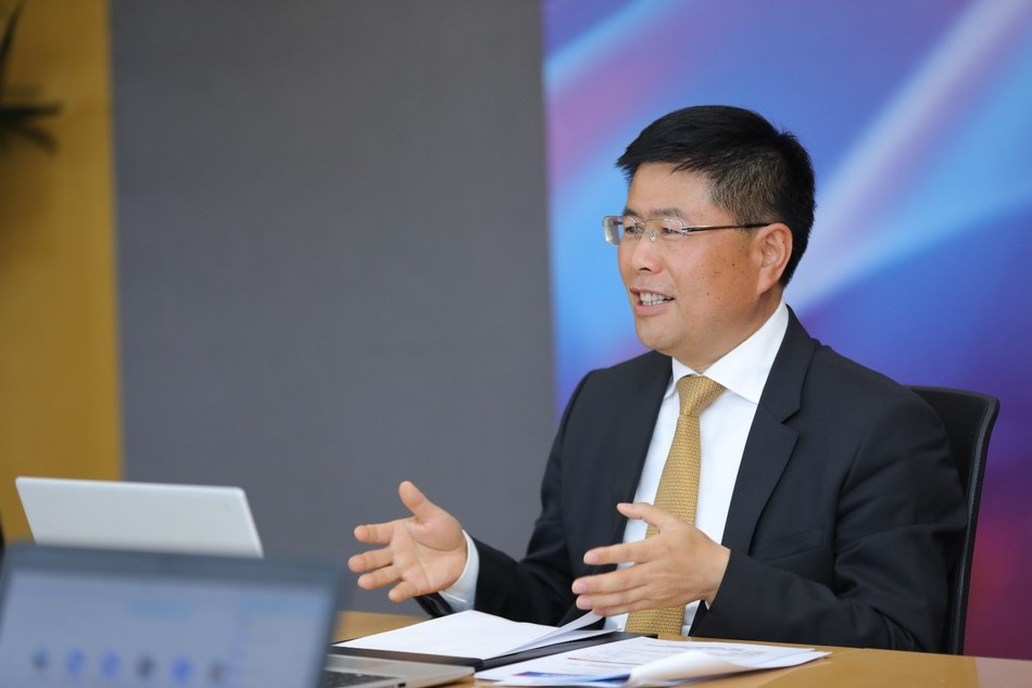 Gary Huang, President of the International Business Department and Senior Vice President of H3C at NAVIGATE 2020