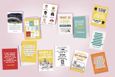 Moonpig's exclusive eCard range launched for The Big Night In Appeal