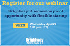 Brightway Insurance to host webinar April 29 for people interested in franchising