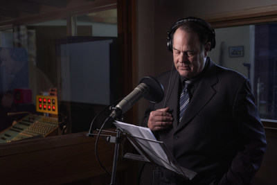 Canadian icon and believer in ghosts, Dan Aykroyd (pictured), narrating T+E's all-new original series, Hotel Paranormal. (CNW Group/Blue Ant Media Inc)