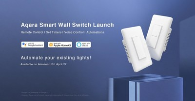 Aqara launches its new Smart Wall Switches in the U.S.
