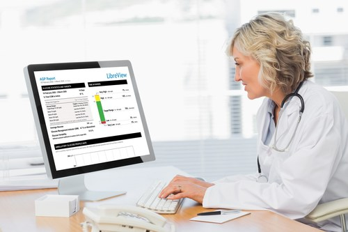 FreeStyle Libre System now available for use in hospitals during COVID-19 pandemic to remotely monitor patients using LibreView, a secure, cloud-based reporting software.