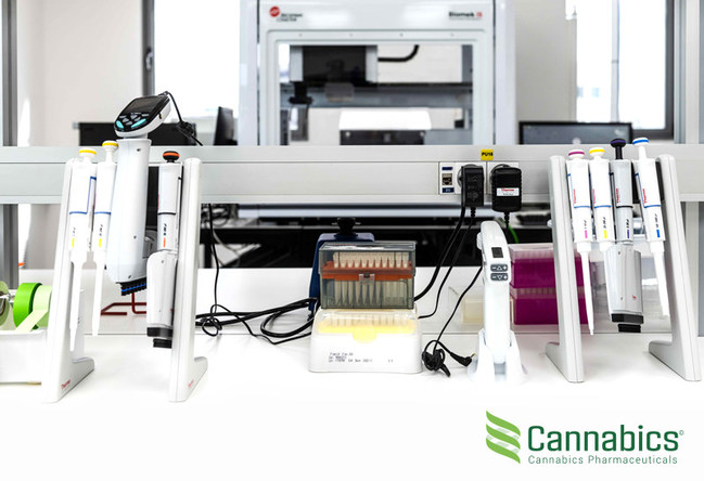 Cannabics Pharmaceuticals HTS Facility in Israel