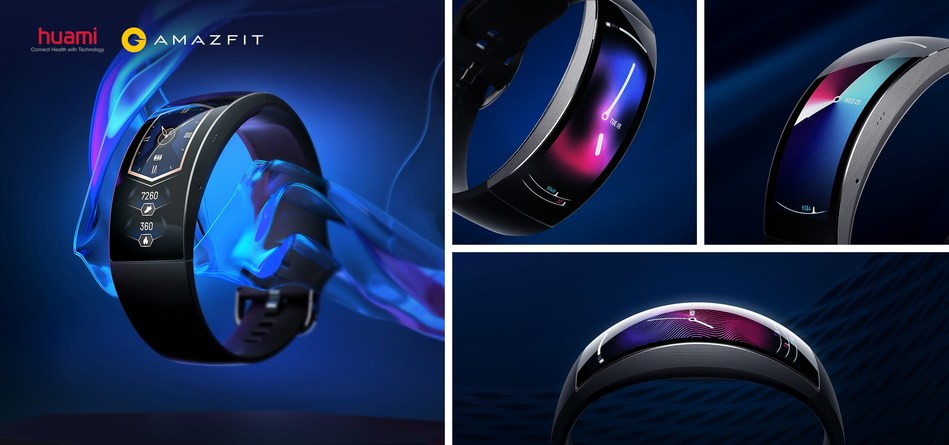 Amazfit X Curved Display, Titanium Unibody and Button Free Design