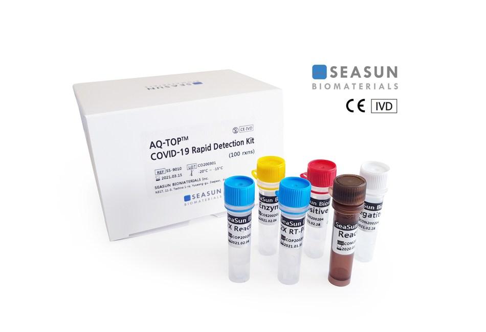 SEASUN BIOMATERIALS, AQ-TOP COVID-19 rapid detection Kit