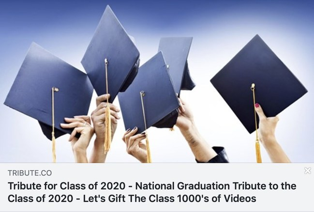 National Video Tribute for the Class of 2020