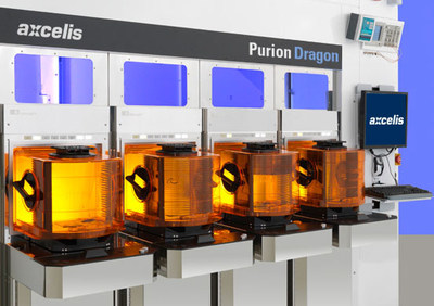 The Purion Dragon™ is a revolutionary new high current implanter architecture, featuring innovative orthogonal beam optics, designed for advanced memory and logic applications.