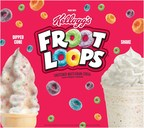 Calling All Cereal Lovers! Hamburger Stand Unveils the Delicious New Froot Loops Dipped Cone & Shake