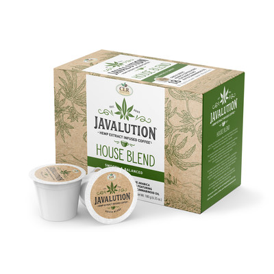 YGYI's CLR Roaster's Javalution Hemp Infused Coffee Available on Amazon.