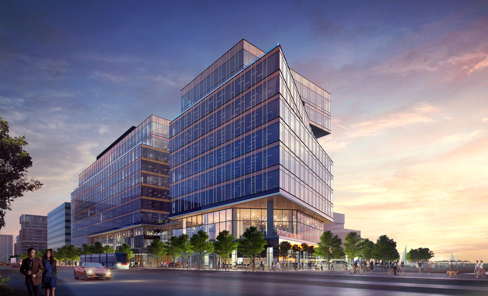 Waterfront Innovation Centre (CNW Group/Menkes Developments Ltd)