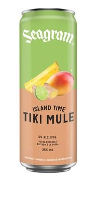 Seagram Island Time Tiki Mule (CNW Group/Waterloo Brewing Ltd.)