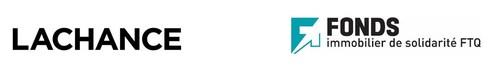 Logos : Lachance Immobilier et Fonds immobilier de solidarité FTQ (Groupe CNW/Lachance Immobilier)
