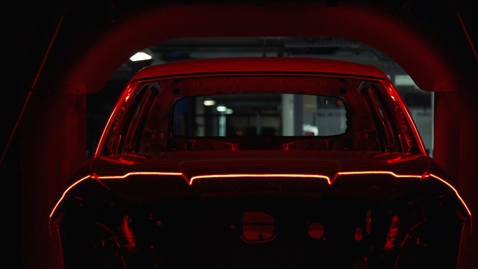 The wellness centre for cars: 43 seconds in a scanner (PRNewsfoto/SEAT)
