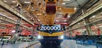 XCMG's 200,000th Wheeled Crane Rolls-off the Production Line