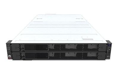 FusionServer Pro 2298 V5 equipado com 24 drivers frontais de 3,5 polegadas (PRNewsfoto/Huawei)