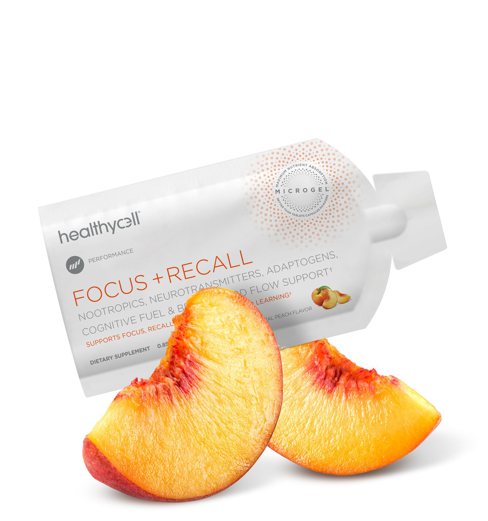 Healthycell Focus + Recall Gel pack