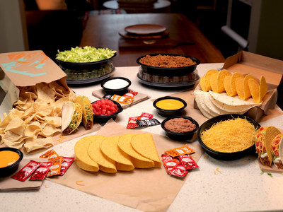 Just in time for Cinco de Mayo, Taco Bell is giving fans the perfect recipe to prepare their own creations or recreate past and present menu favorites from home with the At Home Taco Bar, available via delivery and contactless drive-thrus nationwide starting Friday, May 1, for a limited time.