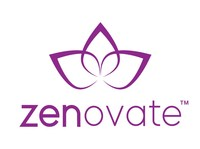 The new Zenovate logo pays homage to its roots in Incorporate Massage.