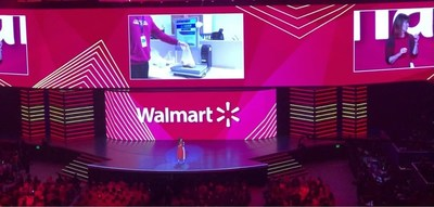Judith McKenna, President and CEO of Walmart International, introduced RetailAI® Fresh as one of the success stories of Omega 8 at the Walmart 2019 Annual Shareholders' Meeting in Bentonville, Arkansas.