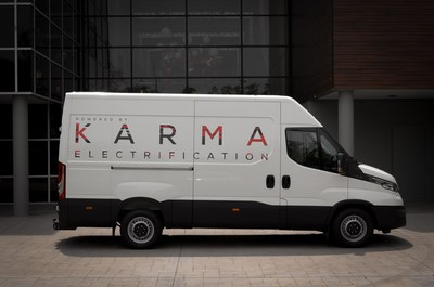 Karma's new EREV E-Flex van platform is capable of a variety of commercial applications and features Karma technology validated in the company's 2020 Revero GT.