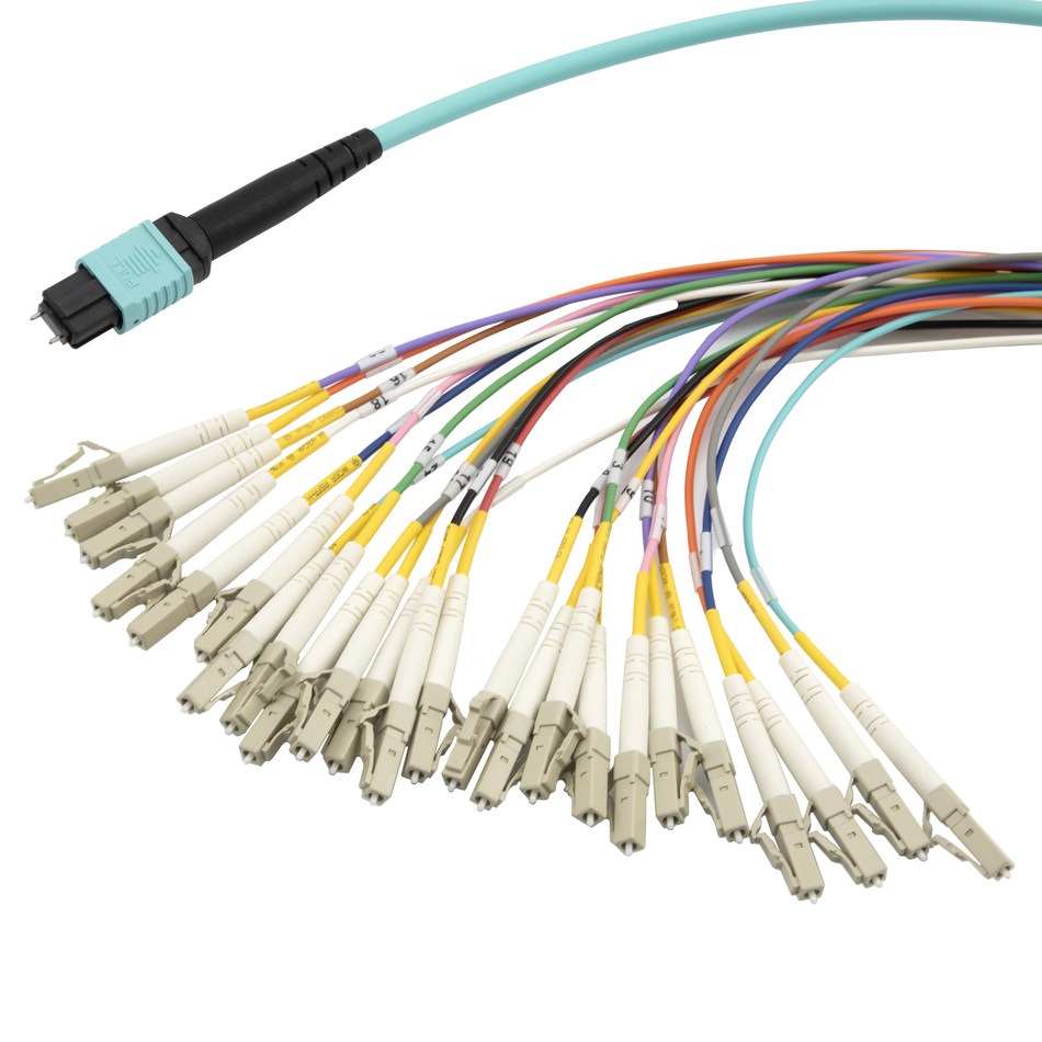 ShowMeCables Releases New MPO Fiber Breakout Cables Available in OM3, OM4 and OM5 Models