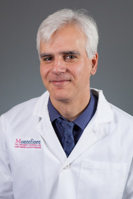 Balazs Halmos, M.D., M.S., director of the Multidisciplinary Thoracic Oncology Program at Montefiore and professor of medicine at Einstein. Co-senior author on the paper.