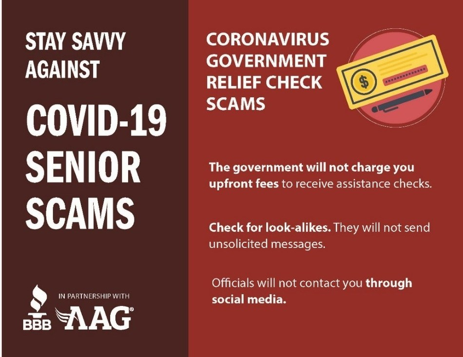 Senior Centered Covid 19 Scam Warning Issued By Aag And Better