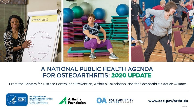 Release of National Public Health Agenda: 2020 Update by the Osteoarthritis Action Alliance, Arthritis Foundation and CDC