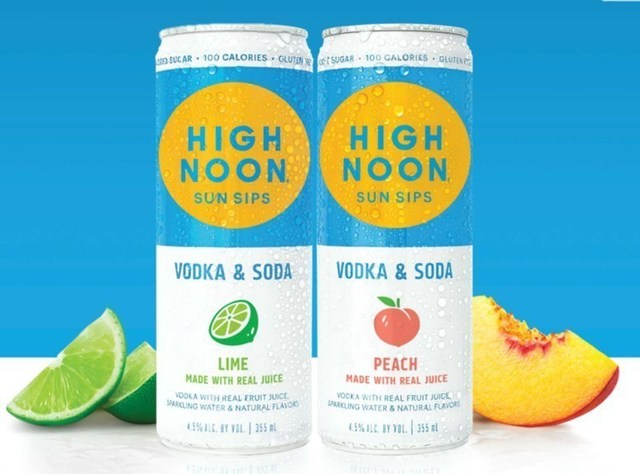 E. & J. Gallo's High Noon Hard Seltzer, the #1 selling spirits-based Hard Seltzer, announced today the addition of two new flavors to their portfolio, lime and peach will hit shelves this May