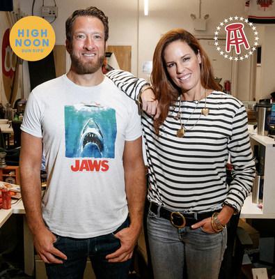 Barstool's President Dave Portnoy and CEO Erika Nardini