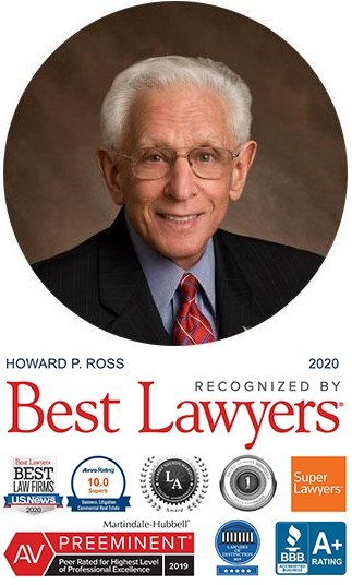 Howard P. Ross has practiced with Battaglia, Ross, Dicus, and McQuaid, P.A. and its predecessors since his graduation from Stetson University College of Law in 1964, one of the longest continuous relationships in St. Petersburg.
