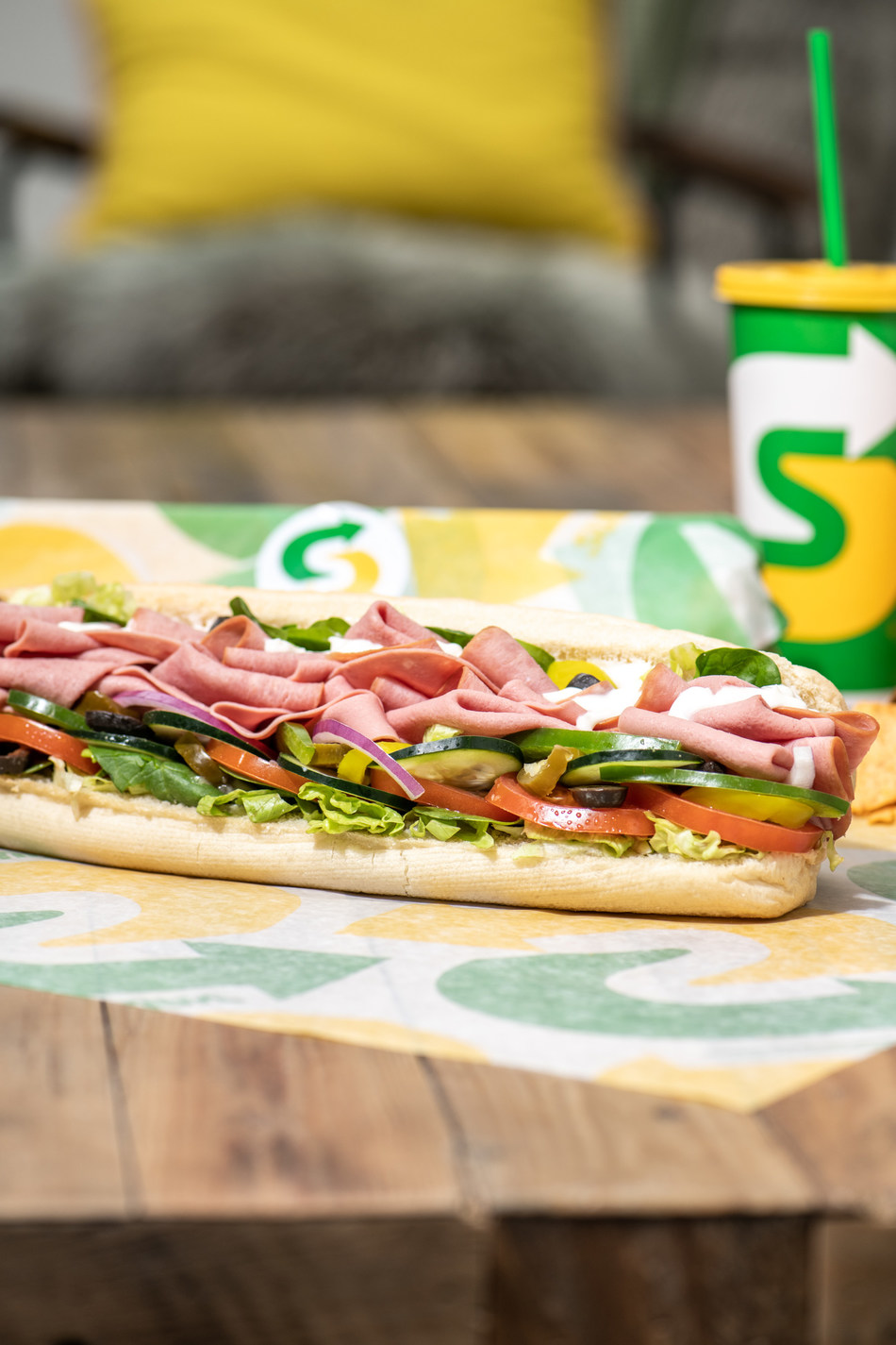 Now through May 10, Subway® Restaurants will donate a 6-inch sub to healthcare workers in the U.S. for every Subway order purchased through Postmates with a value of $15 or more.