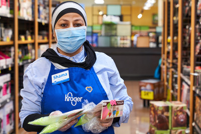 Kroger to begin offering free COVID-19 testing for frontline grocery workers, based on symptoms and medical need.