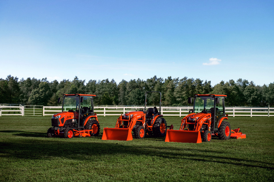 The New LX Series (CNW Group/Kubota Canada Ltd.)