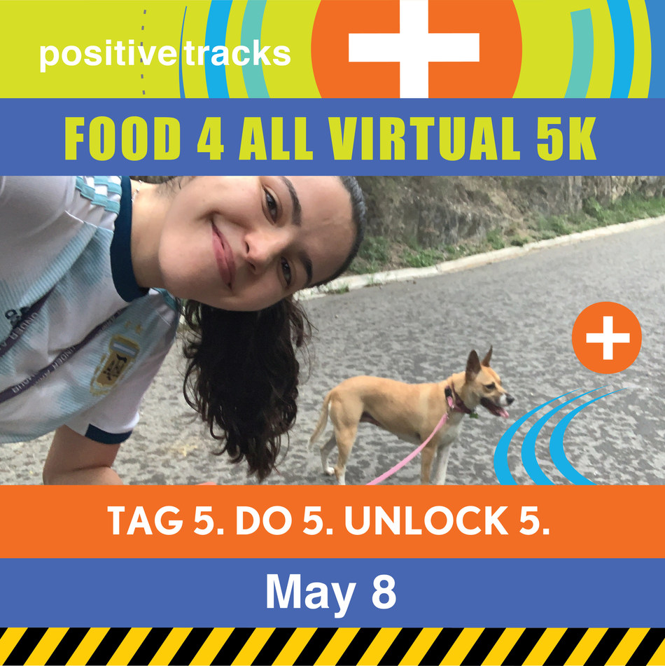 Gen Z unite! Rally your crew because together 5,000 people will unlock 5K for Feeding America. Mobilize your friends to do a 5K and Positive Tracks will donate 50,000 meals to those hardest hit by COVID-19. All ages, all abilities - run, walk, wheel, power chair, bike. We've got this.