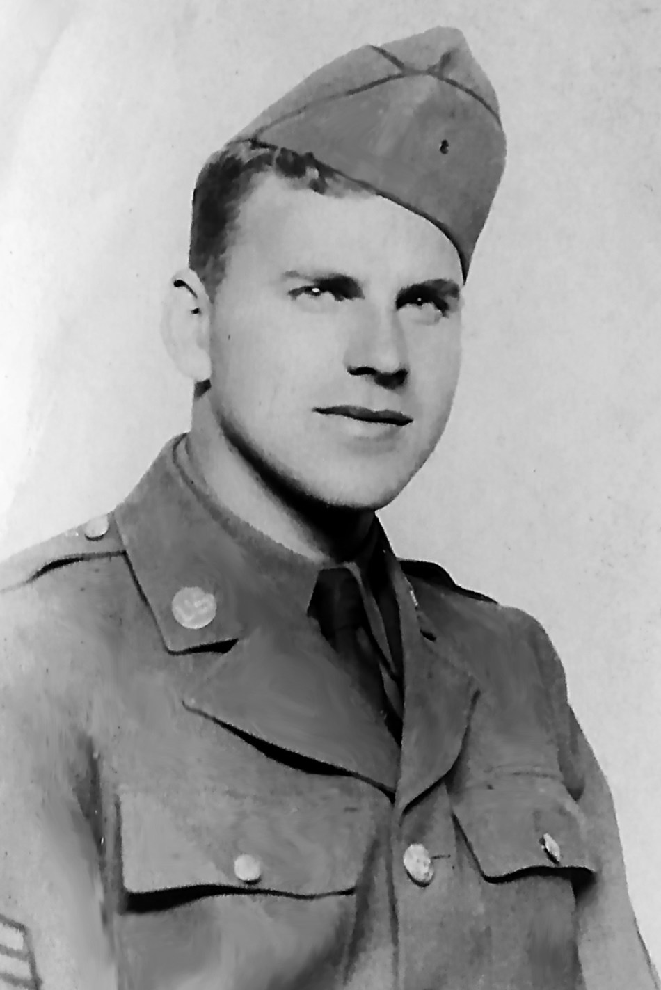 Alkabo native Vern Olson served in an armored infantry unit as a tank commander, as well as in the Transportation Corps, in Europe during WWII.