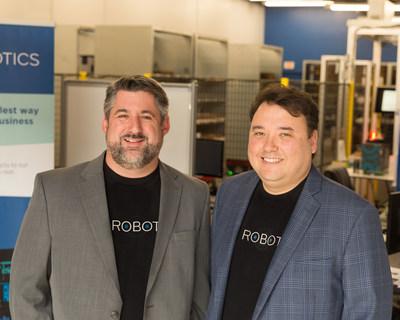 SVT Robotics Co-Founders, Michael Howes and A.K. Schultz