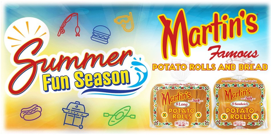 """Martin's is bringing the """"Fun"""" all summer long, by offering two sweepstakes prizes and 10 runner-up prize packs each month, May through August. To learn more, and to enter the sweepstakes, visit:  https://www.martinssummerfun.com/"""