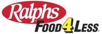 Ralphs and Food 4 Less lockup image. (PRNewsfoto/Ralphs and Food 4 Less)
